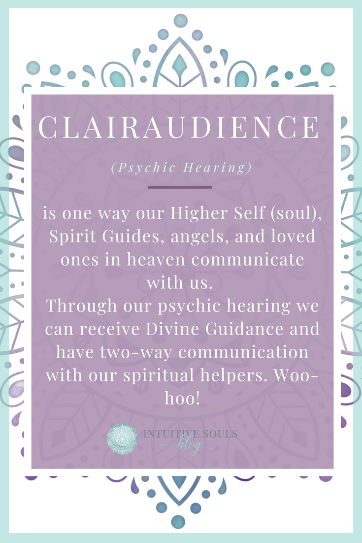 clairaudience definition for beginners from IntuitiveSoulsBlog.com