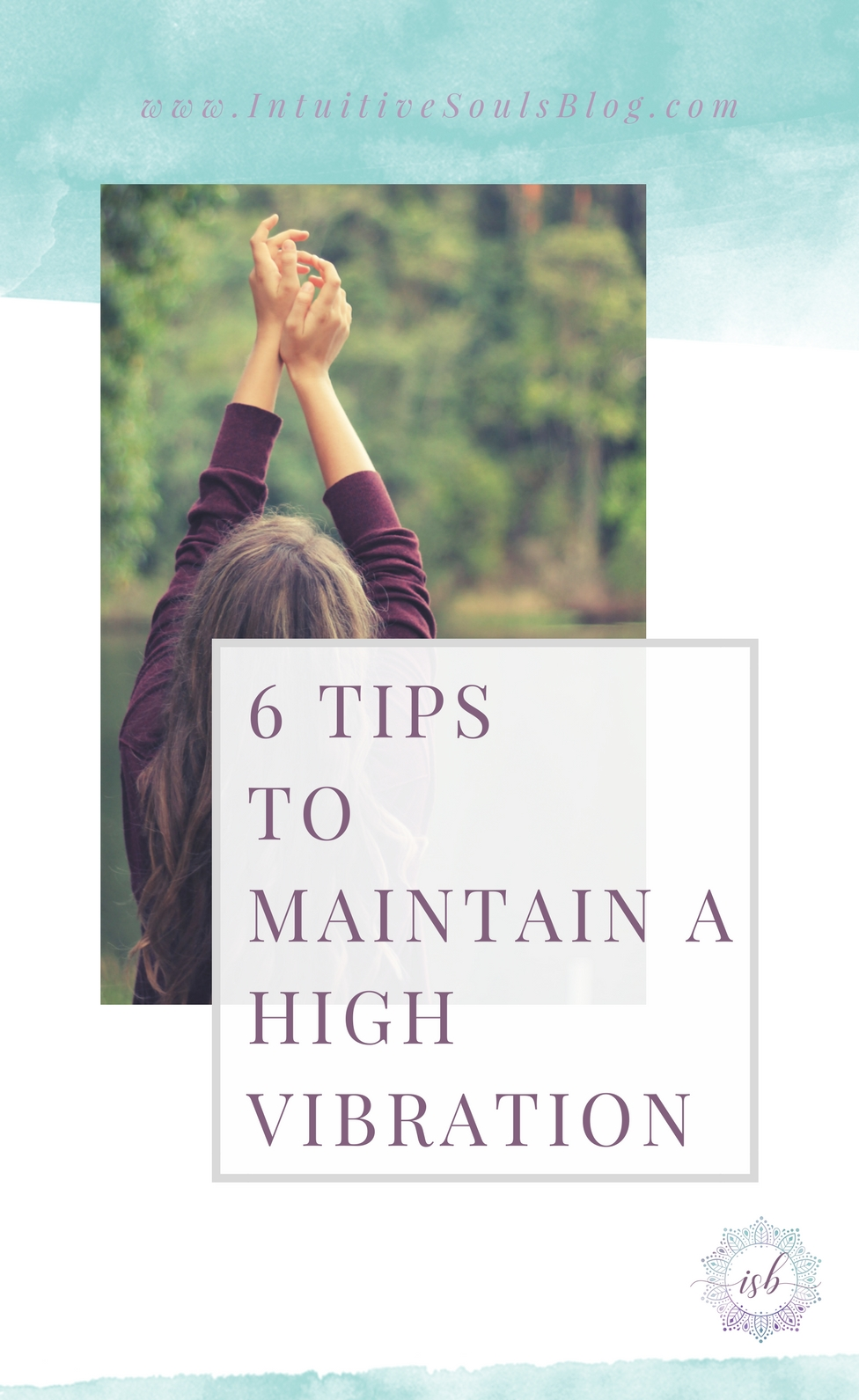 It's easy to keep a high vibration when everything is going your way... but when things are