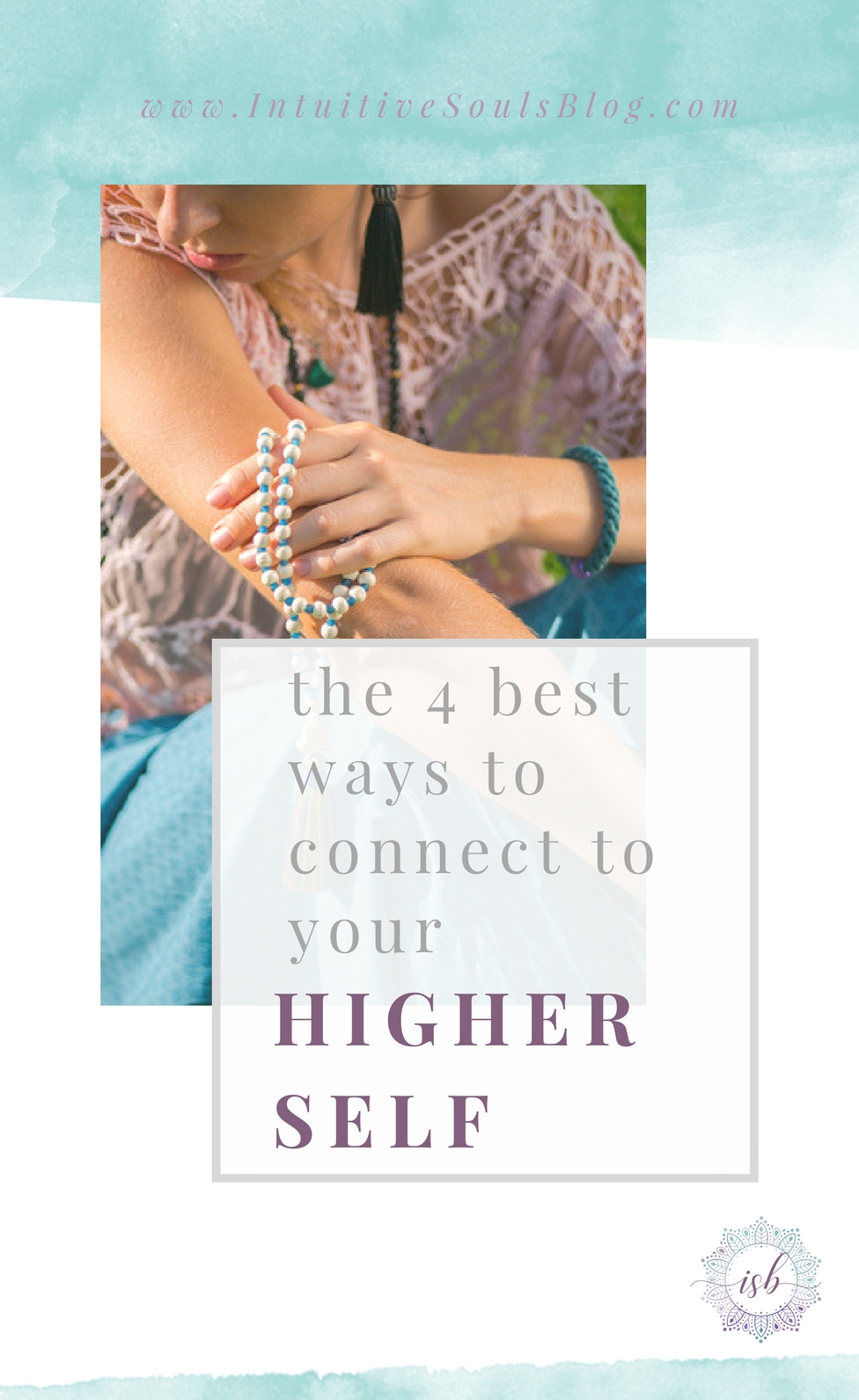 Truth time: Life is smoother when you're connected to your Higher Self. Here are 4 simple ways to tune into your HS, signs that it's