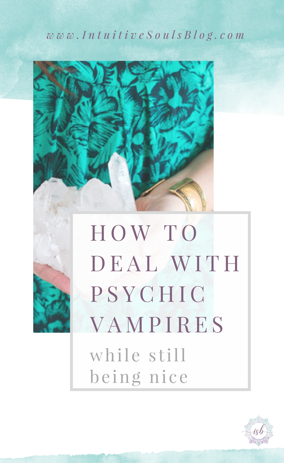 A psychic vampire has more issues than Vogue... seriously! Here are 5 types of psychic vamps and how to kindly deal with them and stop them from draining your energy at the same time.