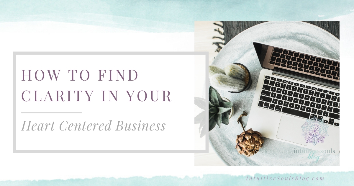 How to find clarity in your heart centered business with meditation.