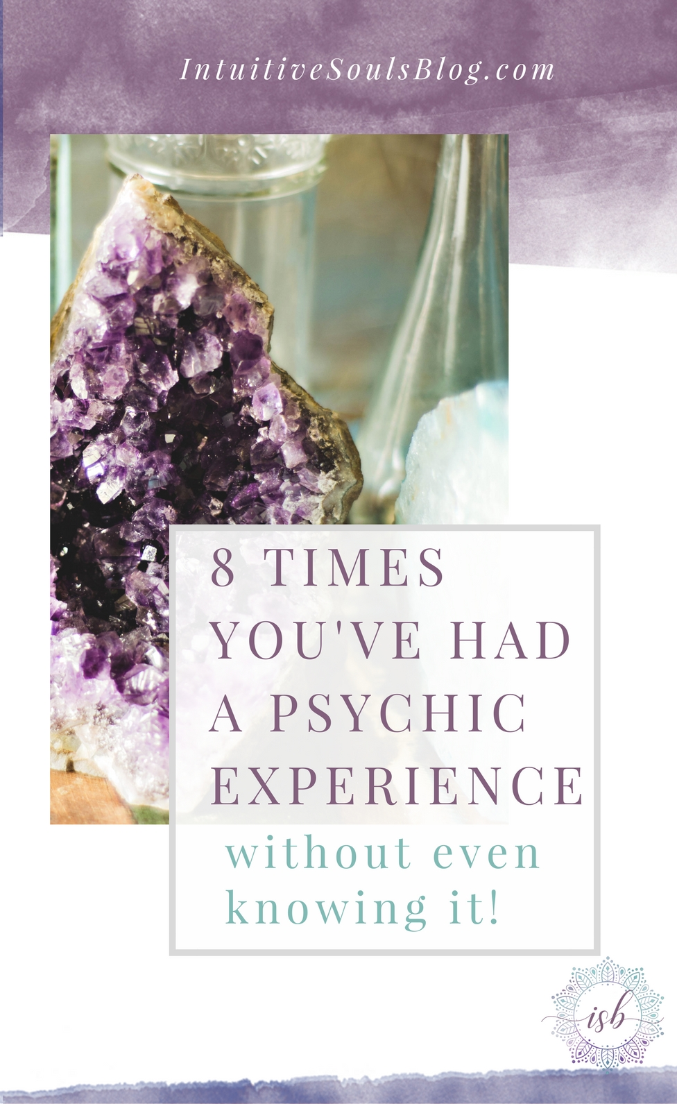 You've probably had a clairvoyant or had a psychic experience without even knowing it. Ask yourself these 8 questions to find out for sure (especially #6)!