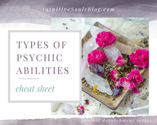 the 4 types of psychic abilities clairaudience, clairvoyance, claircognizance, and clairsentience