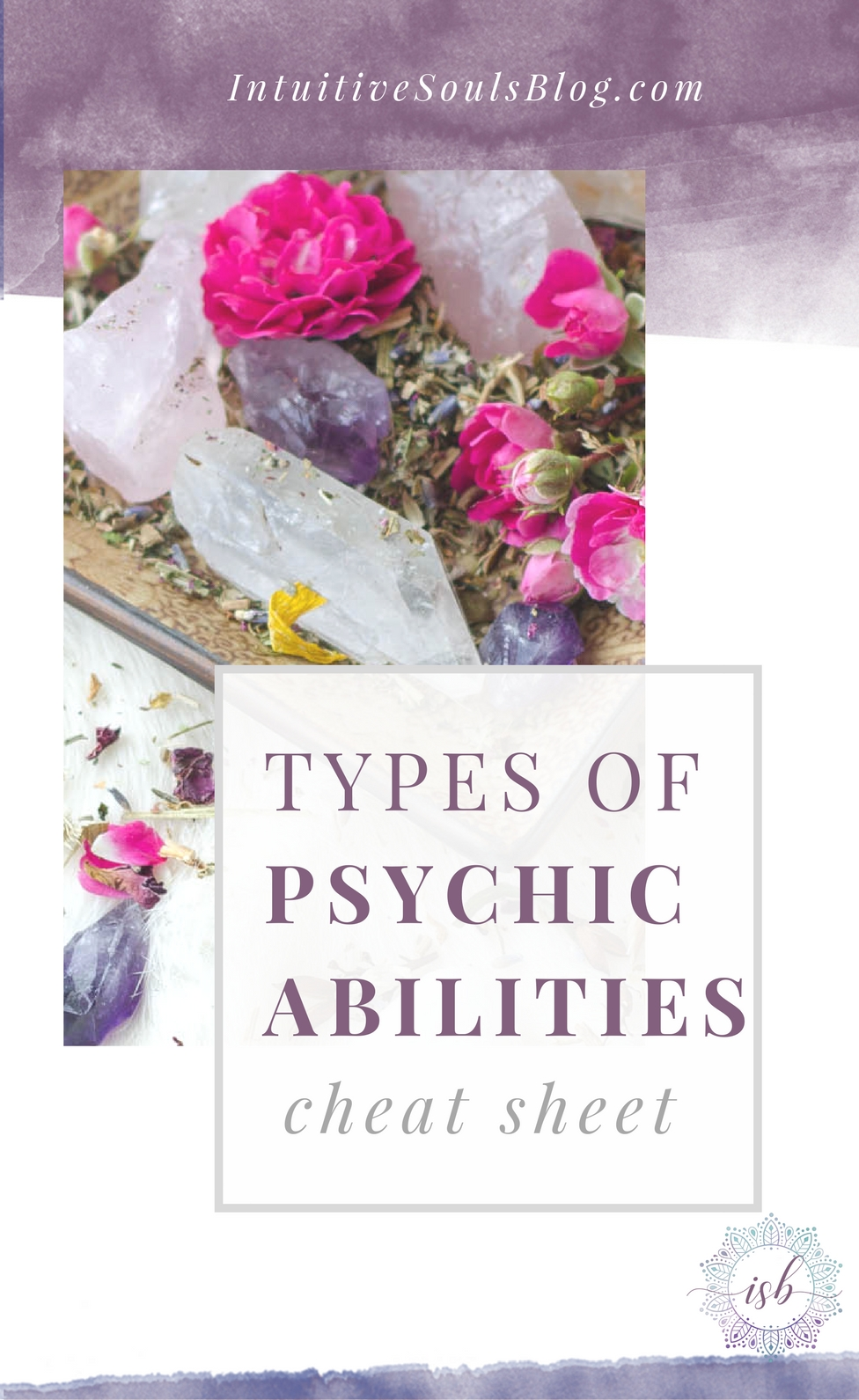 The 4 main types of psychic abilities explained in a super simple way for the beginner psychic. Plus, 2 intuitive gifts that hardly anyone talks about. This