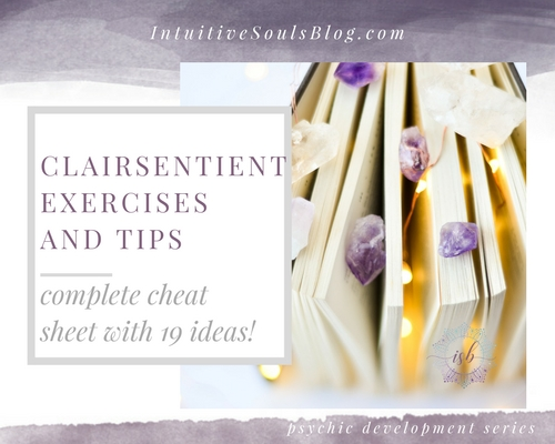 19 clairsentient exercises for psychic development