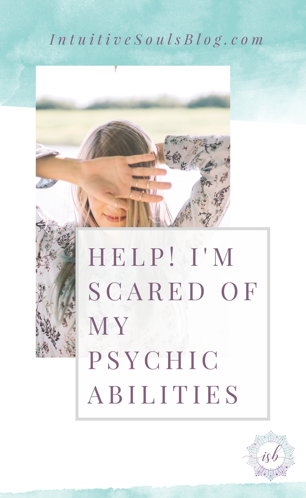 I feel your pain... years ago, I was scared of my psychic abilities, too! Honestly, I don't think anyone on earth was more afraid than me... that's why I KNOW that these 4 steps work perfectly for overcoming fear and embracing your awesome intuitive gifts!