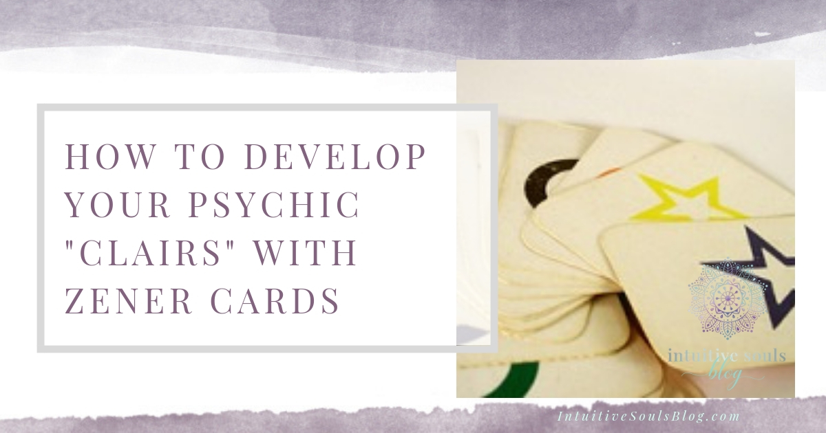 develop psychic clairs with Zener cards