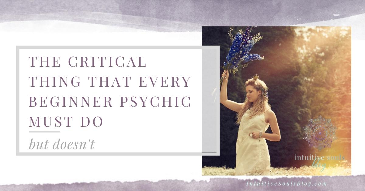 beginner psychic